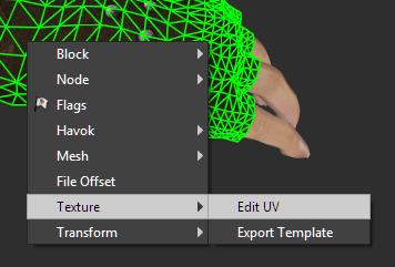 Texture - Edit UV