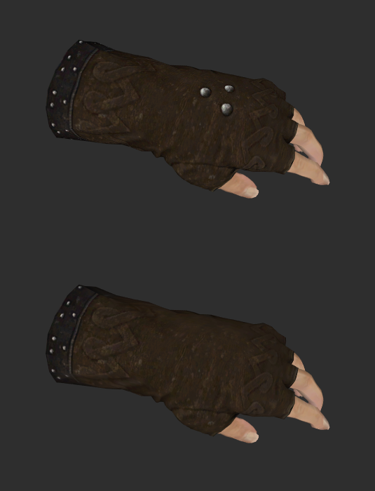 Comparison of two gloves