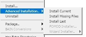 Advanced Installation