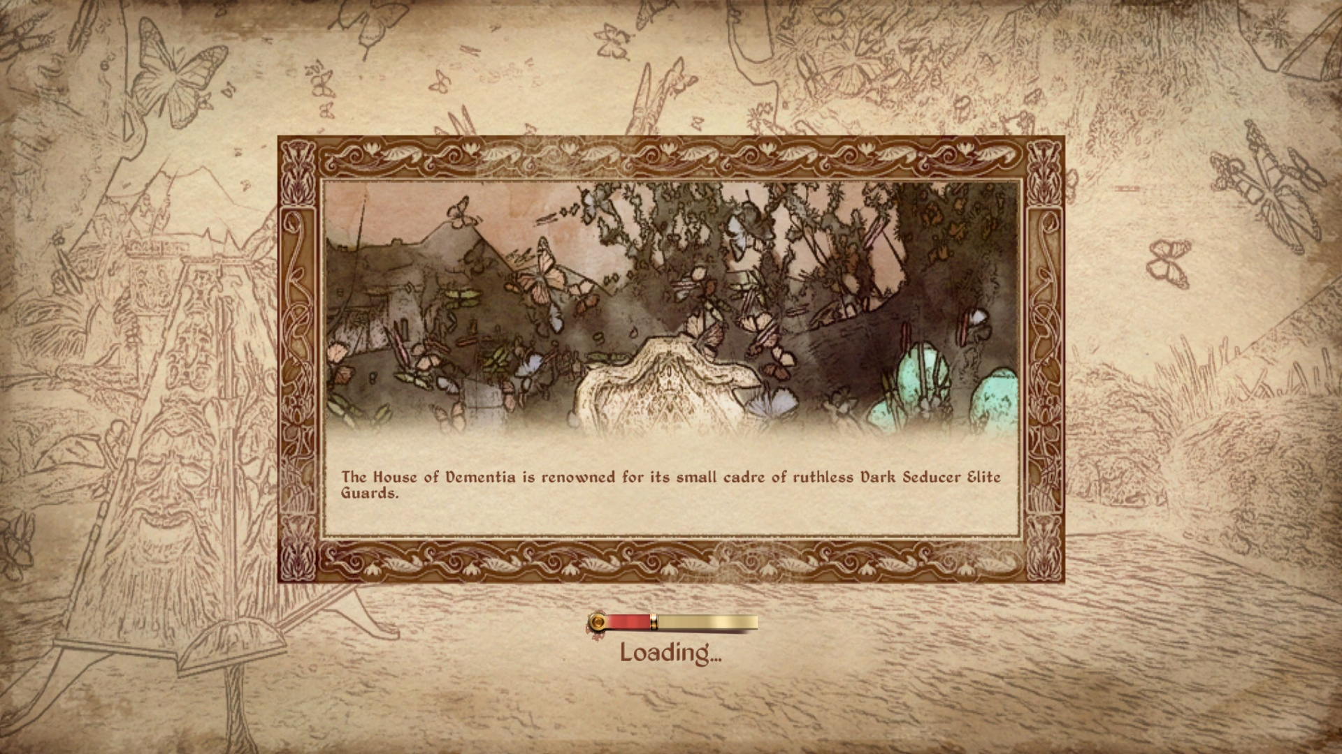 Loading Screen in Shivering Isles
