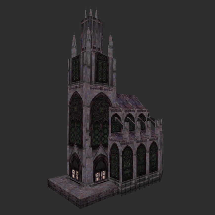 Cathedral of Zenithar, normal Windows